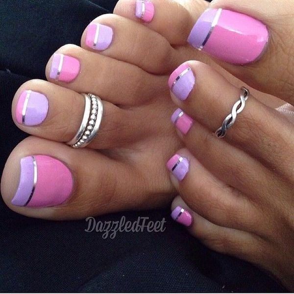 15 easy nail art for toes pretty designs 15 easy nail art for toes prinsesfo Gallery