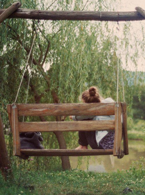 Summer Swing Bench