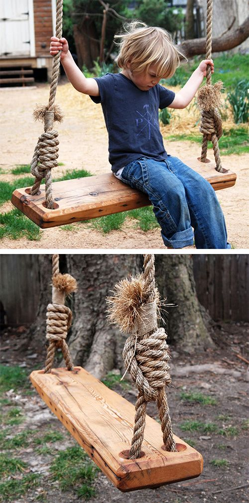15 Fantastic Swings for Your Backyard - Pretty Designs