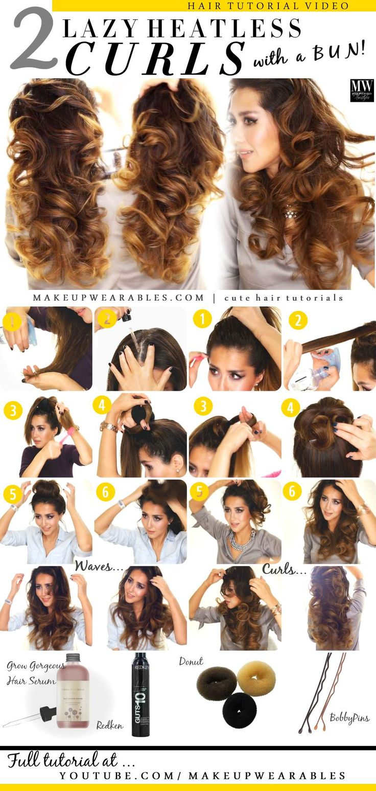 Sensational 15 Super Easy Hairstyles For Lazy Girls With Tutorials Pretty Hairstyles For Women Draintrainus
