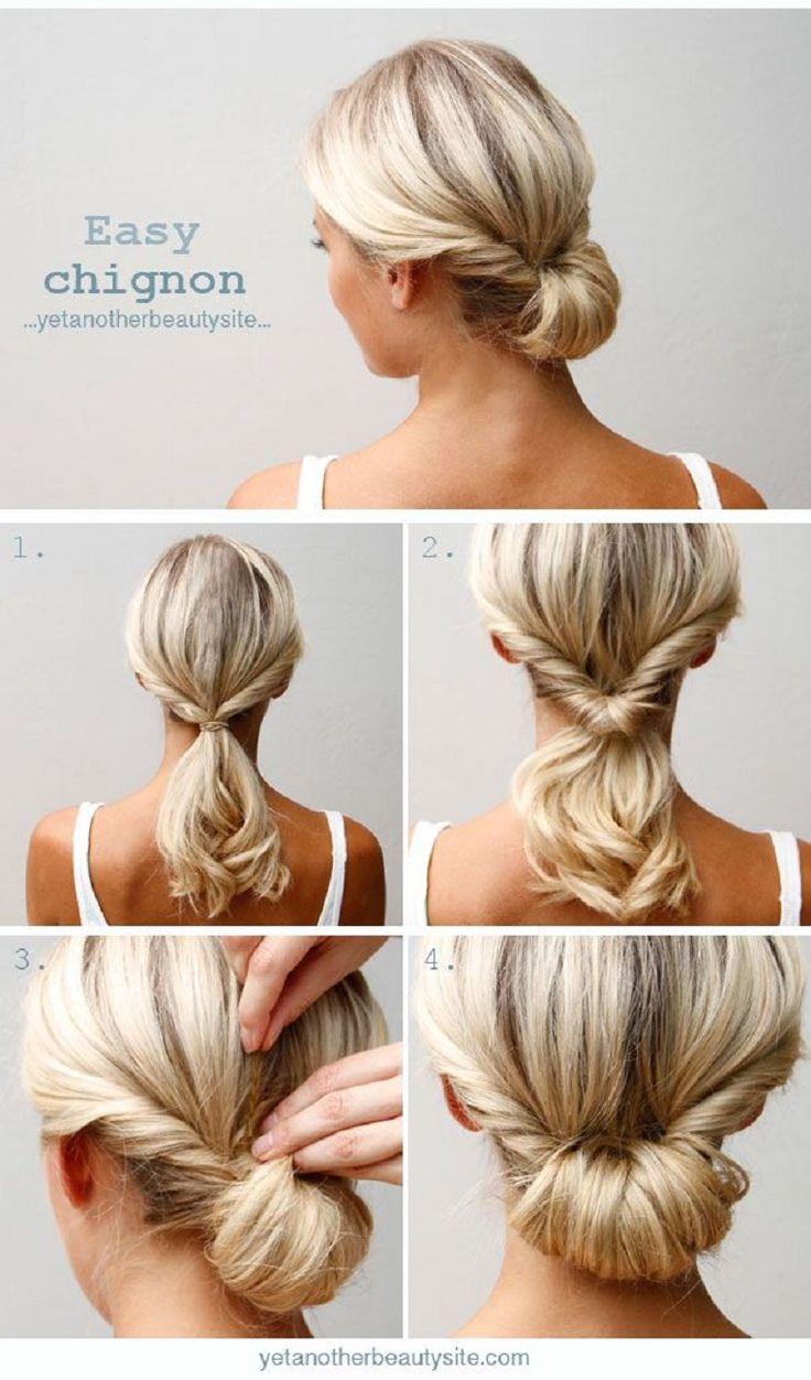 Magnificent 15 Super Easy Hairstyles For Lazy Girls With Tutorials Pretty Short Hairstyles For Black Women Fulllsitofus