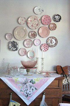Pink Plate Display