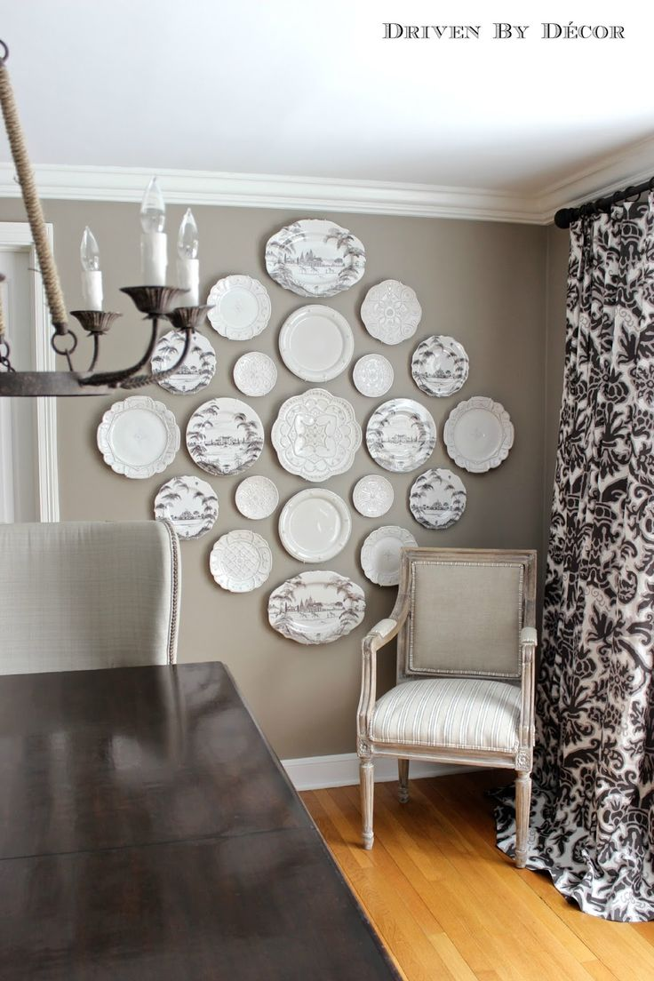 Hanging Plates for Wall