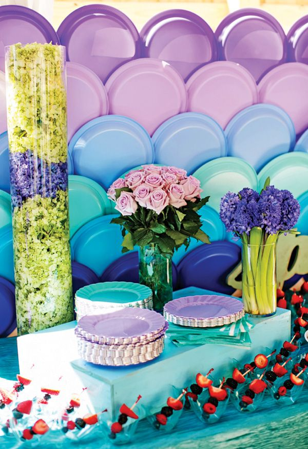 Party Plate Wall