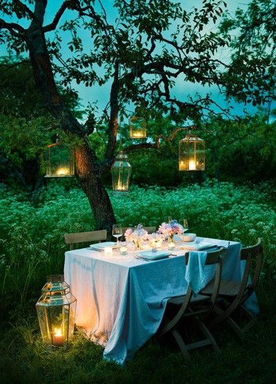 20 Ideas to Set a Romantic Table