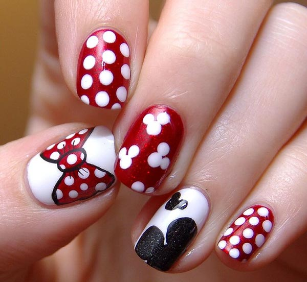 66 nail art ideas for short nails pretty designs nail designs for short nails prinsesfo Choice Image