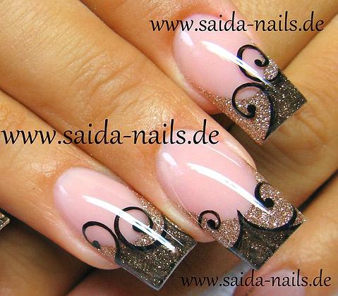 21 Beautiful Nail Designs for Long Nails 2019 Nails  pinterest Nail polish Nail care Nail Art Ideas Nail art Nail Gel nails fashion Culture Artificial nails Aesthetics