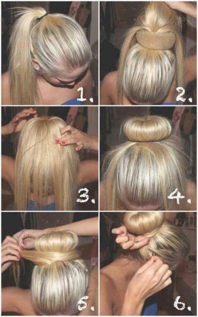Adorale Donut Bun Hairstyle Tutorial