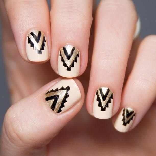 Nails Design Ideas ideas for nails design Aztec Nail Design Idea