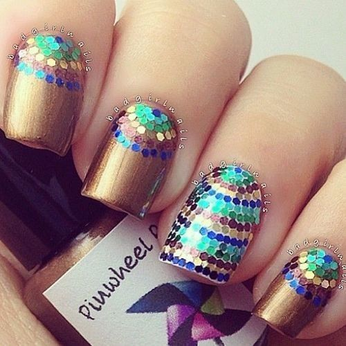 25 Cool Nail Design Ideas for 2017 - Nail Art Ideas - Pretty Designs