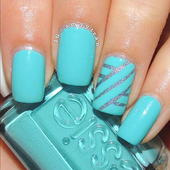 22 Super Easy Nail Art Designs and Ideas for 2018 - Pretty Designs