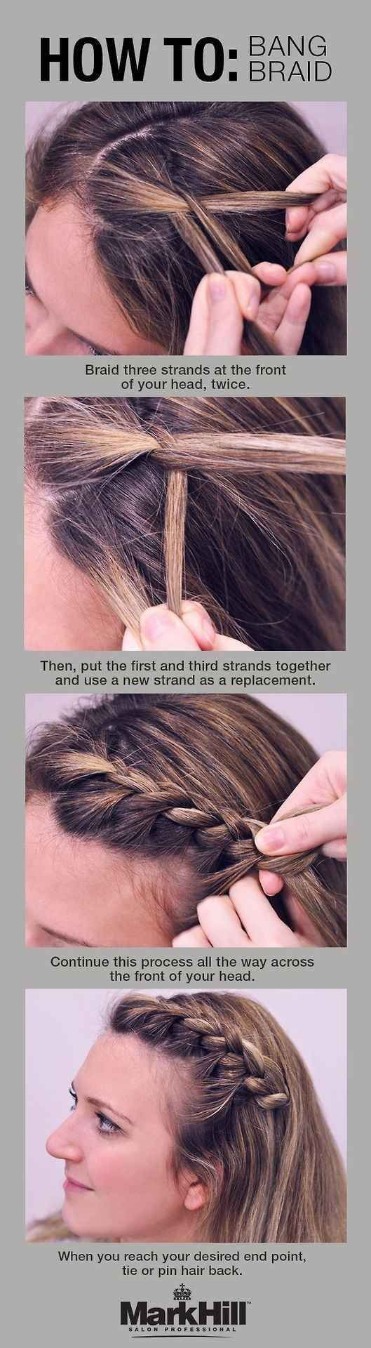 Cute Hairstyles For Kids How To Create A Pull Through Braid Easy Braided You