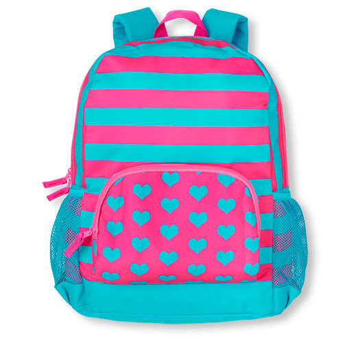 Children's Place Mixed Print backpack, $12