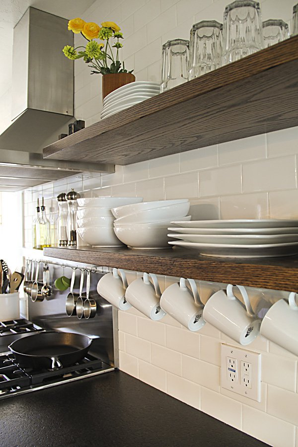 17 helpful kitchen storage hacks pretty designs for Shelving in kitchen