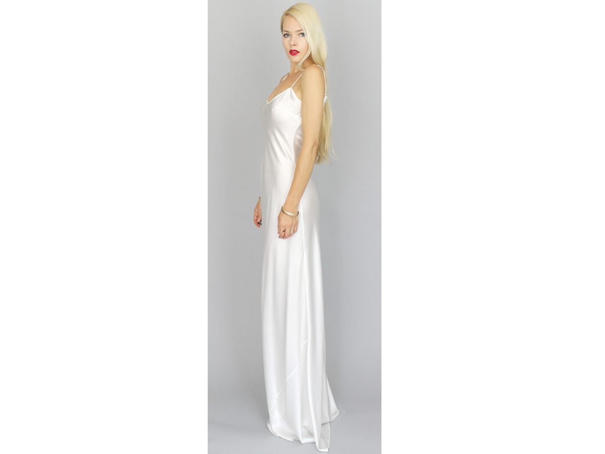 Dahl Mercy Silk Slip Dress, $900
