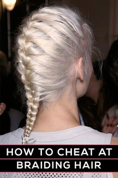 French Braid for Blond Hair