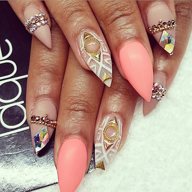 20 Creative Manicure Ideas - Pretty Designs