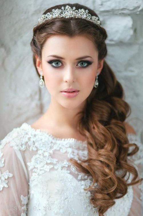 Outstanding 23 Stunning Half Up Half Down Wedding Hairstyles For 2016 Pretty Short Hairstyles Gunalazisus