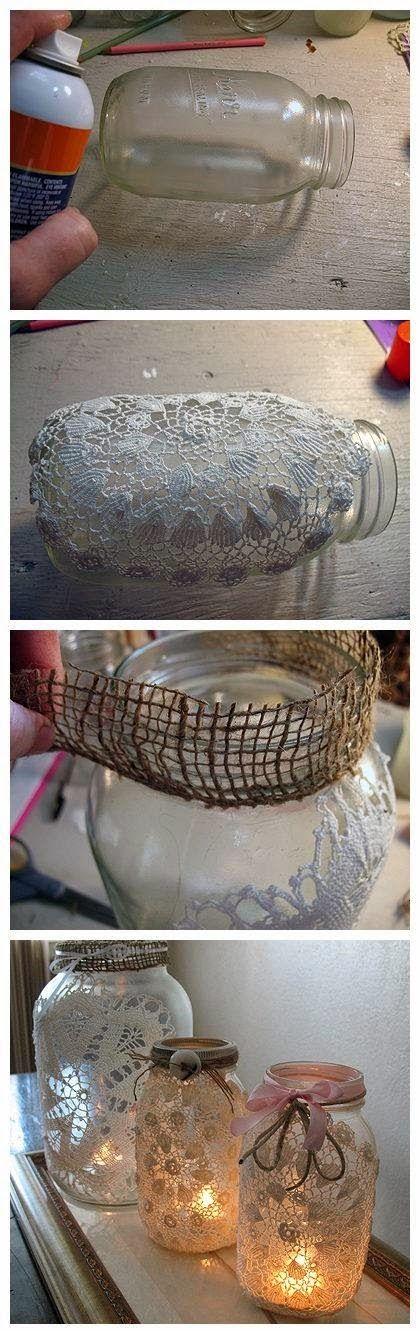 Lacey Mason Jars