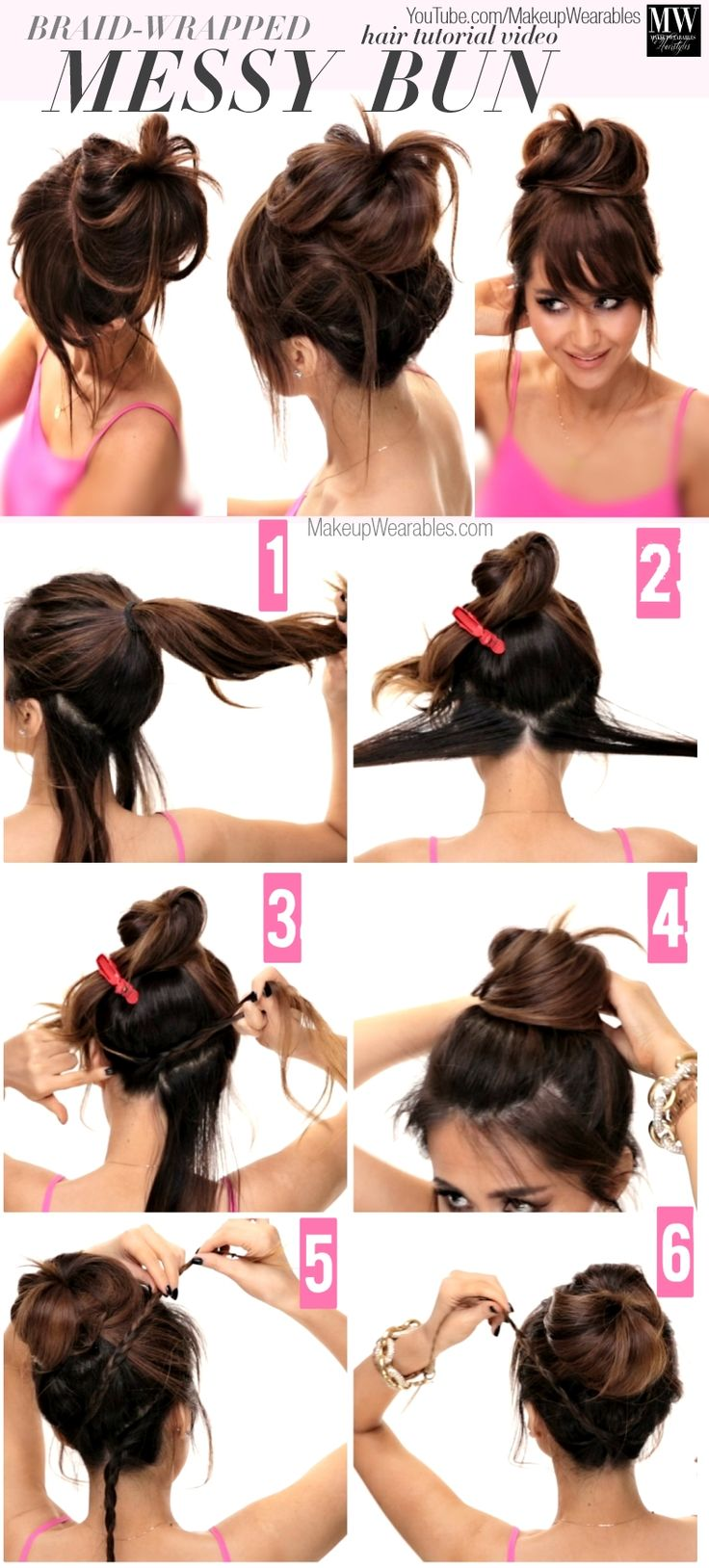 22 Easy Hairstyles for Girls with Tutorials - Pretty Designs