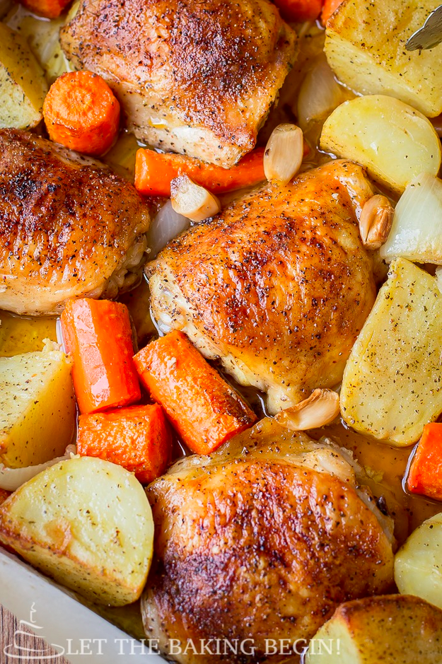 One-Pan Chicken and Potatoes