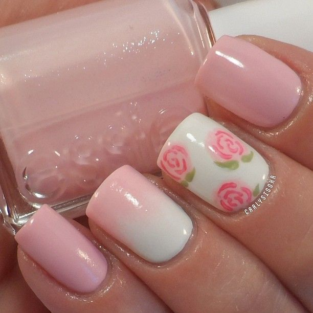 23 sweet spring nail art ideas designs for 2018 for What is ombre design