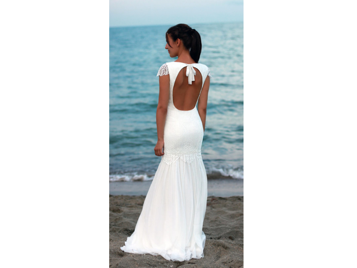 PolinaIvanova Bohemian Wedding Dress, $470