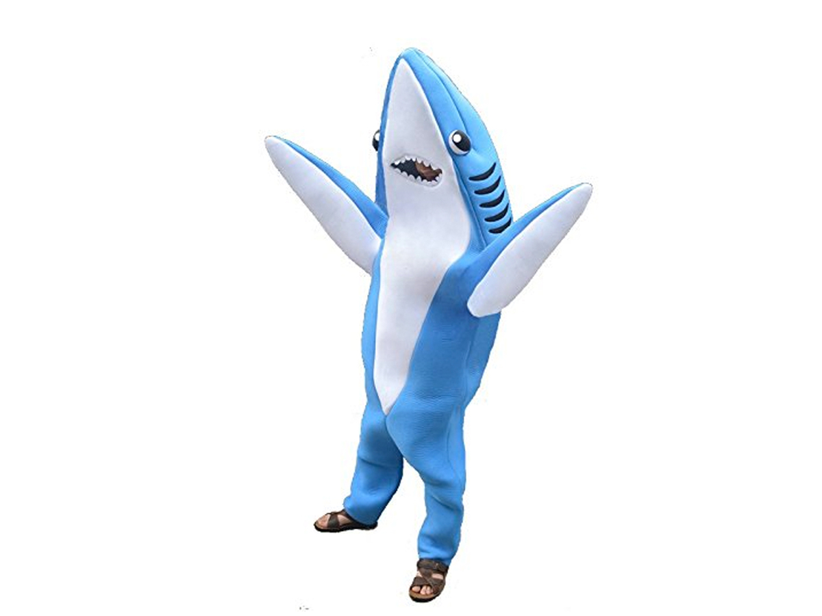 RootSuit Party Shark Costume, $179