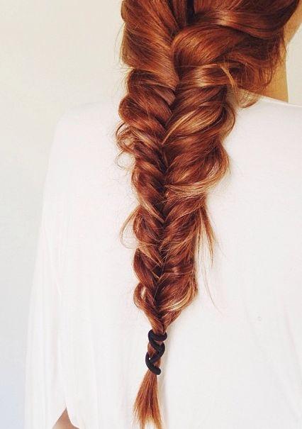 Summer Fishtail Braid Hairstyle