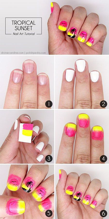 Summer Nail Design Tutorial