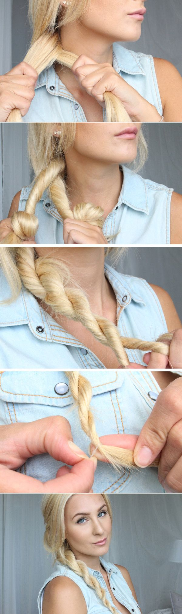 15 Cute 5 Minute Hairstyles For School Pretty Designs