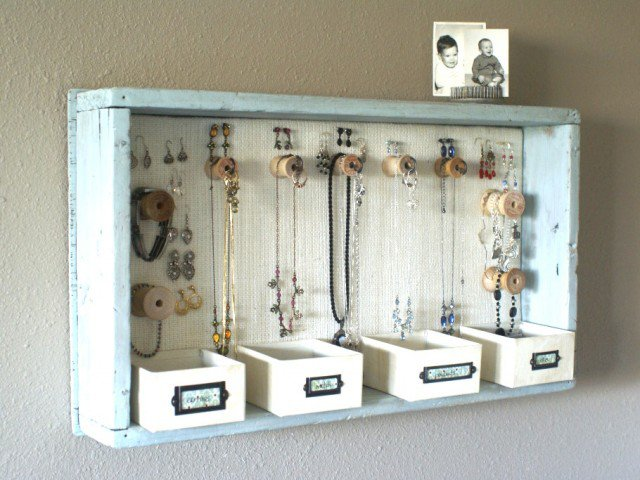 18 Great DIY Jewelry Organizer Ideas Pretty Designs