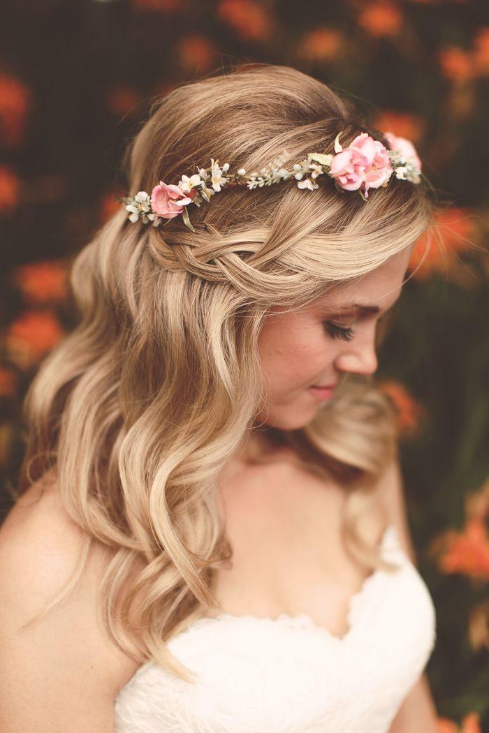 Tremendous Bridal Hair Waterfall Braid Braids Hairstyles For Women Draintrainus