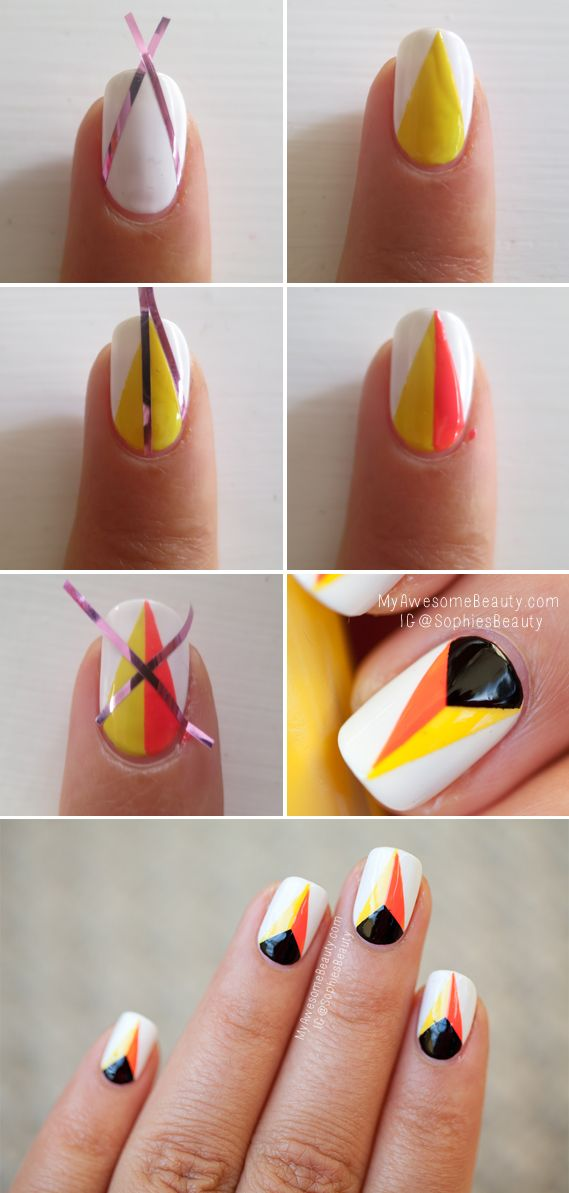25 Easy Nail Art Designs Tutorials