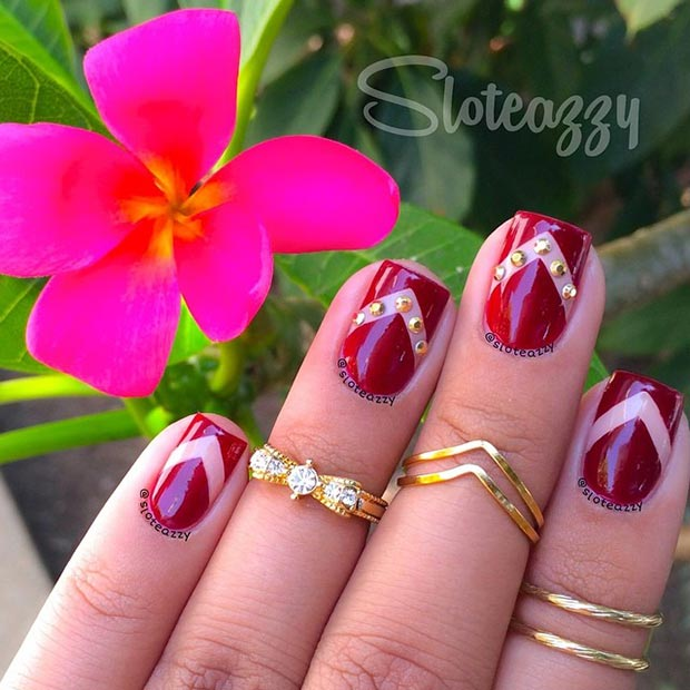 66 Nail Art Ideas for Short Nails , Pretty Designs