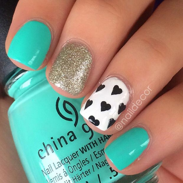 66 Nail Art Ideas For Short Nails Pretty Designs
