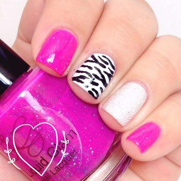 nail art ideas for short nails - Hot Designs Nail Art Ideas