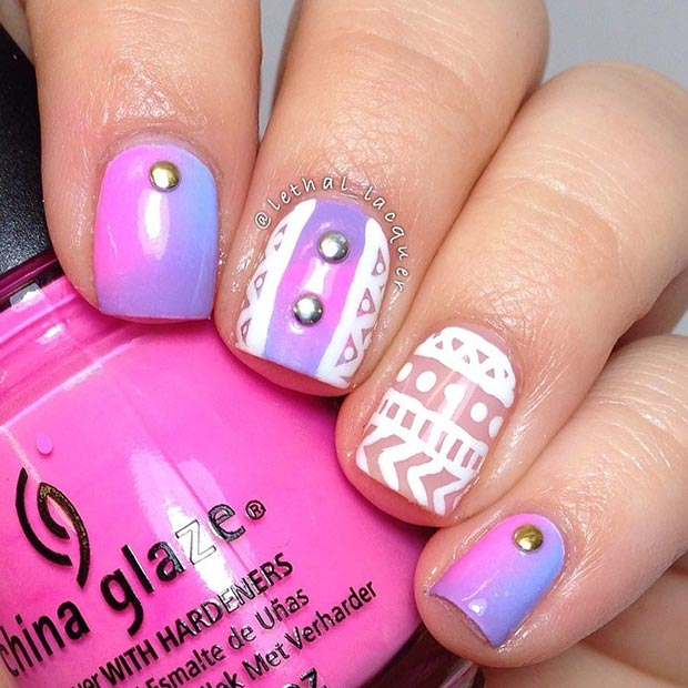 Nail Art Ideas Short Nails Pretty Designs