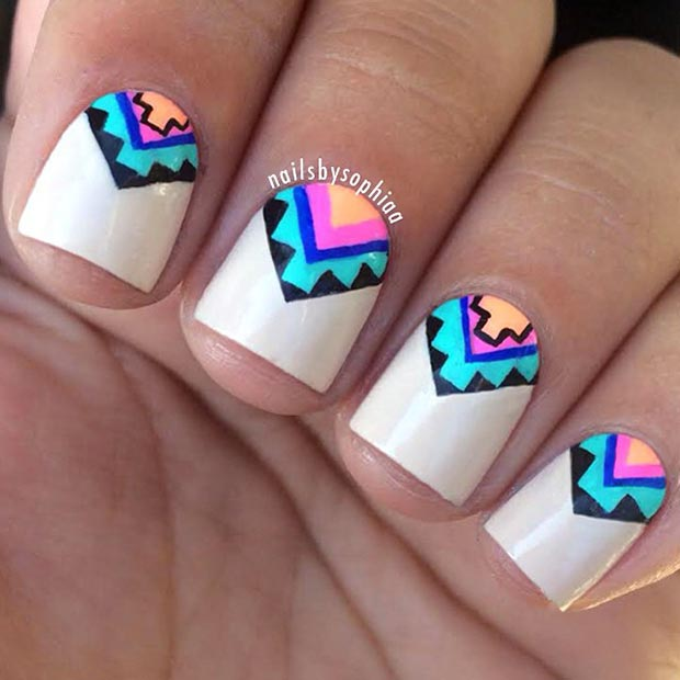 Pretty Nail Art Designs: 66 Nail Art Ideas For Short Nails