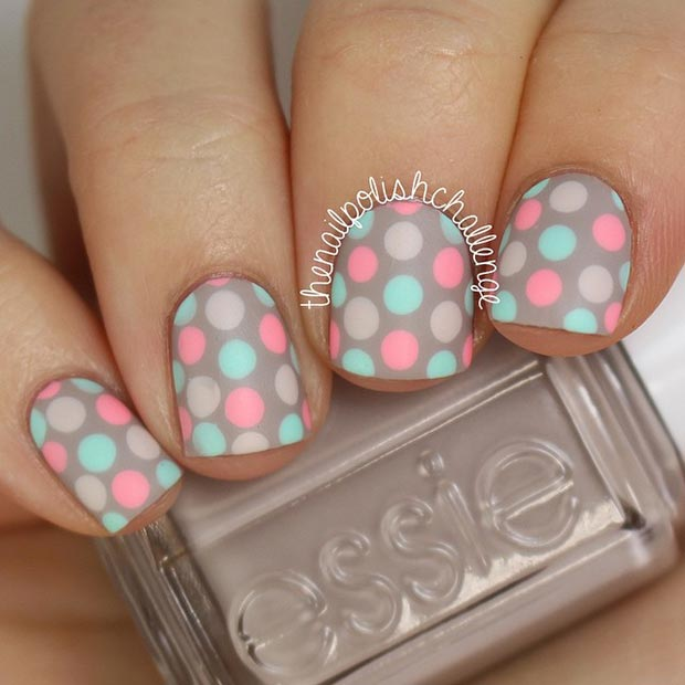 66 Nail Art Ideas For Short Nails