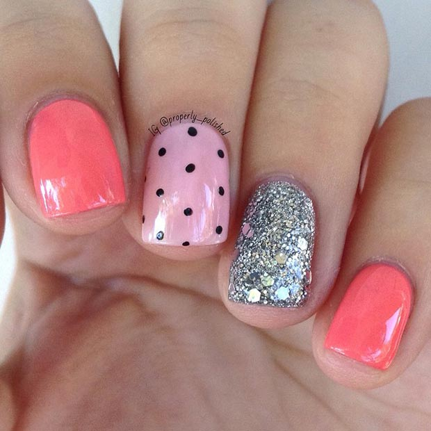 Nail Art Ideas for Short Nails