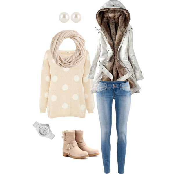 Chic and Casual Winter Outfit Idea