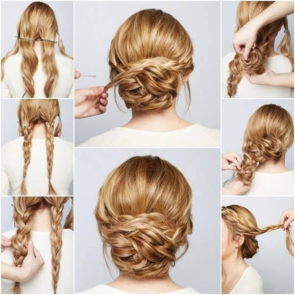 15 beautiful wedding updos pretty designs 15 beautiful wedding updos junglespirit Images