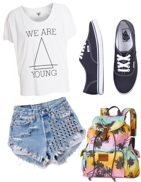 20 Great Polyvore Outfits for School - Pretty Designs Summer Outfits For Teenage Girls Polyvore