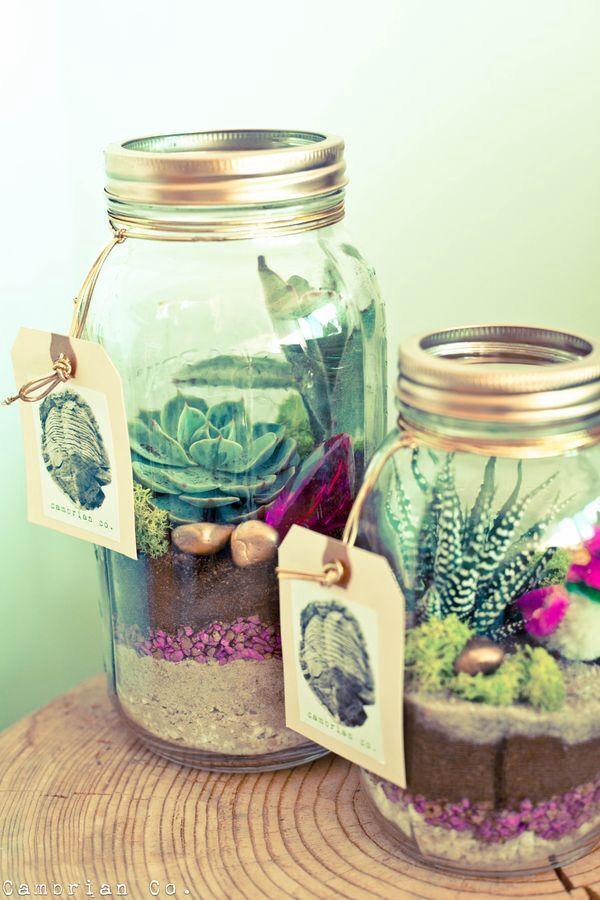 20 Ideas To Decorate Desks With Succulent Pretty Designs
