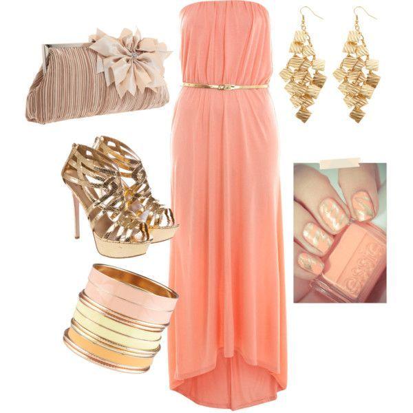 Polyvore Beach Formal Dresses Cute