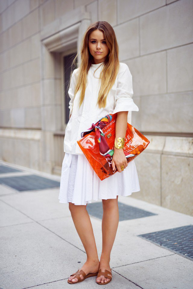 All-White Outfit