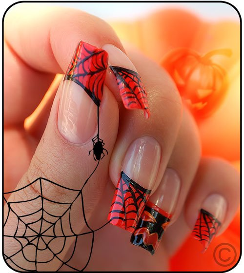 Amazing Halloween Nail Design