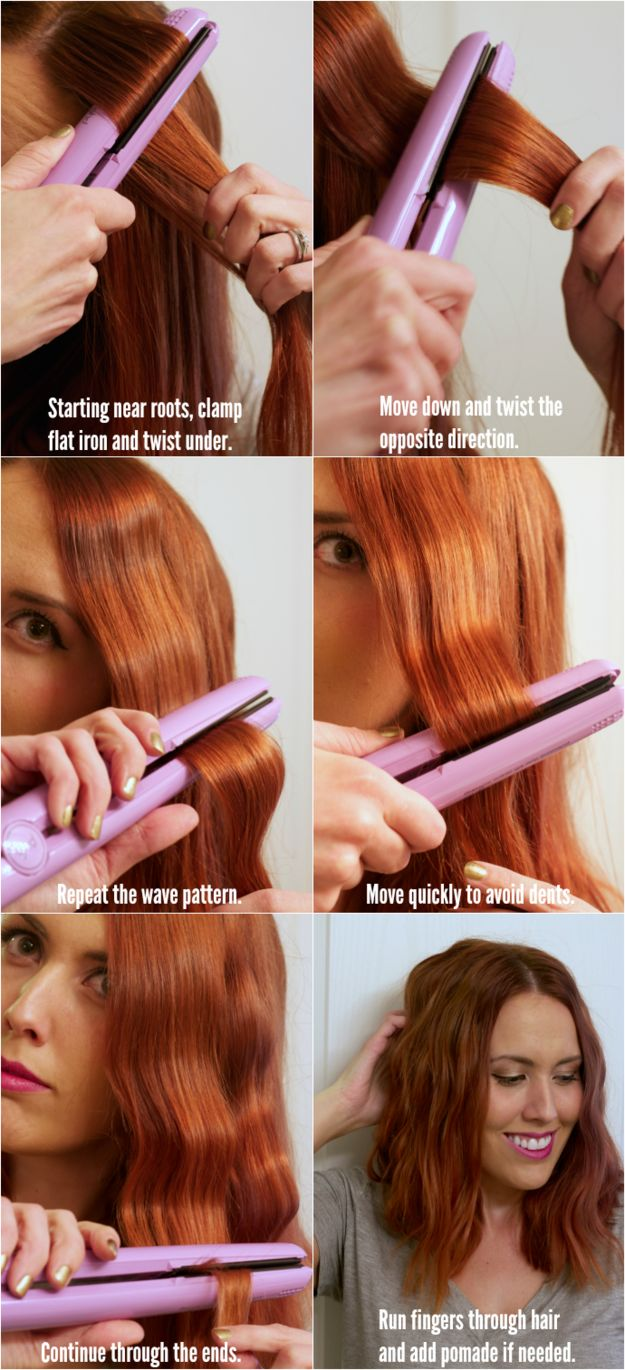 15 Hair Tricks von Hair Glätteisen