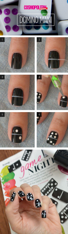 Как делать рисунки на ногтях пошагово фото